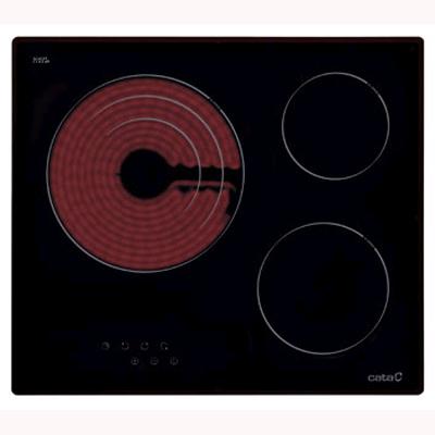 Placa Vitro Cata Tt603 3fuegos 60cm