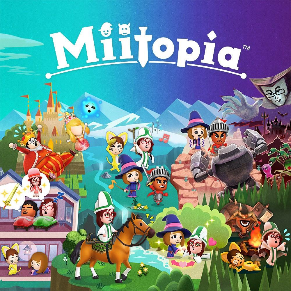 Juego Nintendo Switch Miitopia