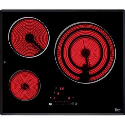 Placa Vitro Teka Trs 635 Slider 3quem 60cm Biselad