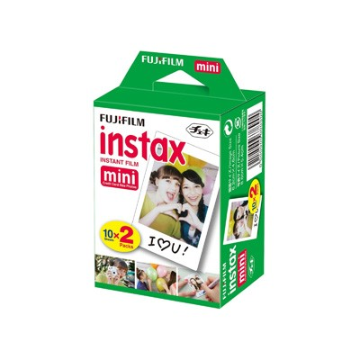 Pelicula Fujifilm Instax Mini Glossy Pack 2*10