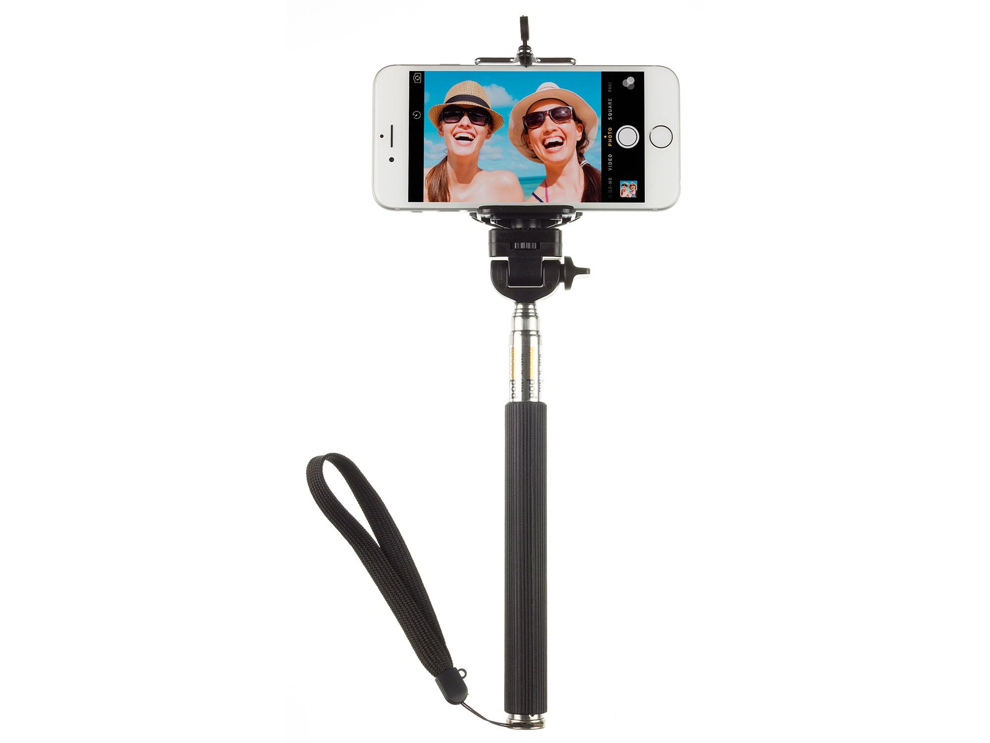 Palo Selfie Kit Monopod Negro