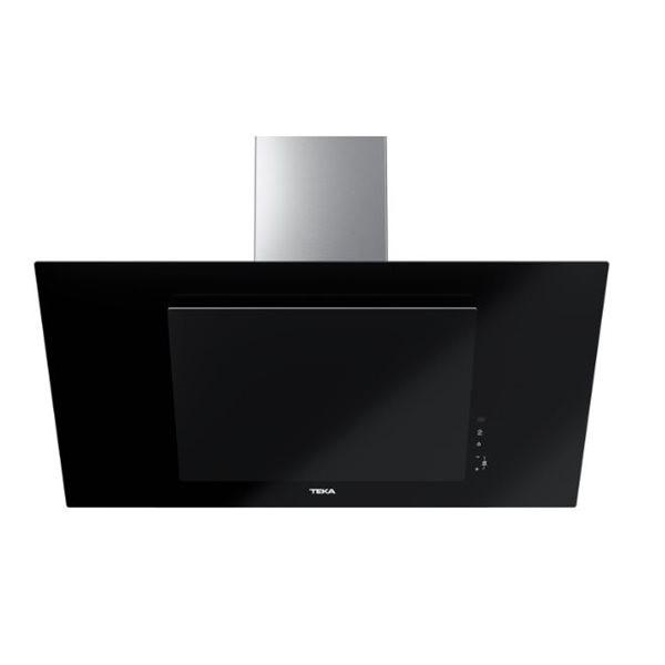Campana Teka Dvt98660tbs Decorativa 90cm Cristal Negro