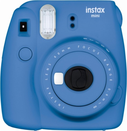 Camara Fotos Instantanea Fujifilm Instax Mini 9 Azul