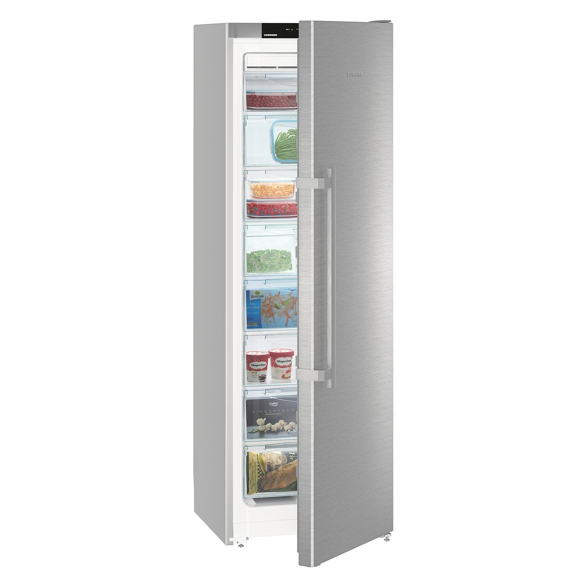 Congelador V Liebherr Sgnef3036-22 186cm Nf Inox A++