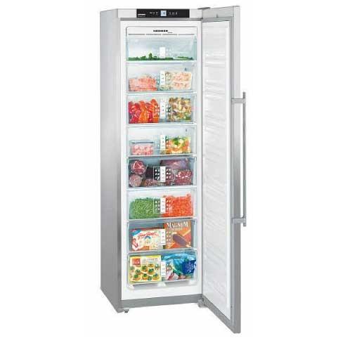 Congelador V Liebherr Sgnes3010-24 186 Nf Inox A++