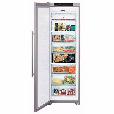 Congelador V Liebherr Sgnesf3063-24 185 Nf Inox A+