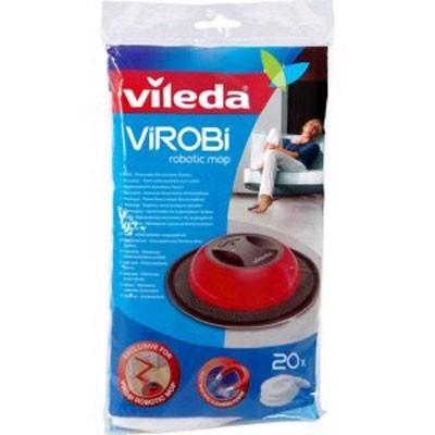 Recambio Vileda Robot Limpieza Virobi (20 Unidades