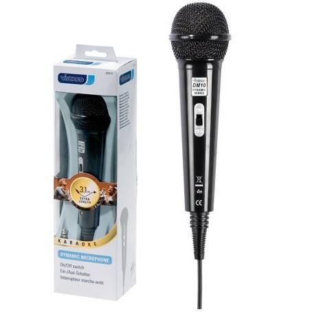 Microfono Vivanco Dm 10 Larg0 3.5-6.3mm 500ohm 3,1m