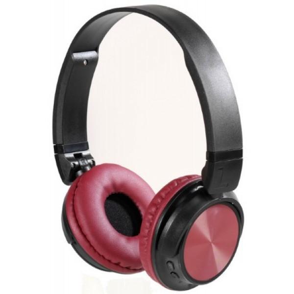 Auriculares Diadema Vivanco 25174 Moove Sin Cables Rojo Negro