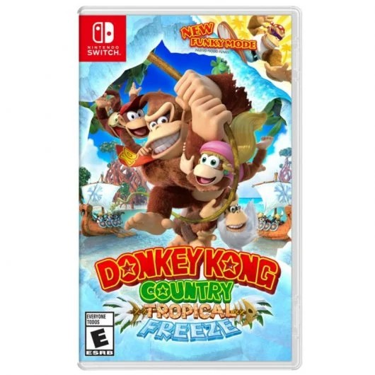 Juego Nintendo Switch Donkey Kong Country: Tropical Freeze