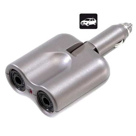 Adaptador Encenedor Cotche 2x1 Vivanco 27840