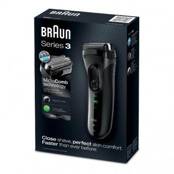 Afeitadora Braun*p&G 3-3020 Black