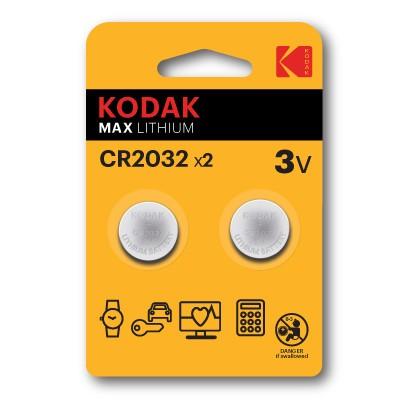 Pila Boton Kodak 2032 (2un)
