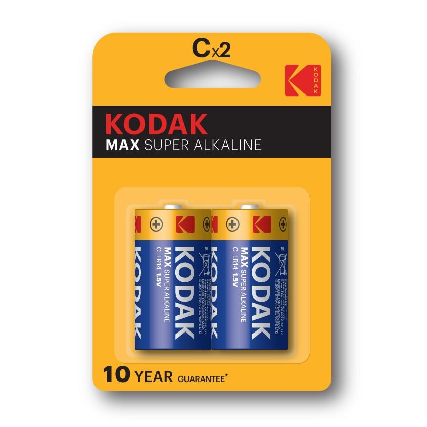 Pila Alcalina Kodak Max C Lr14 (2un)