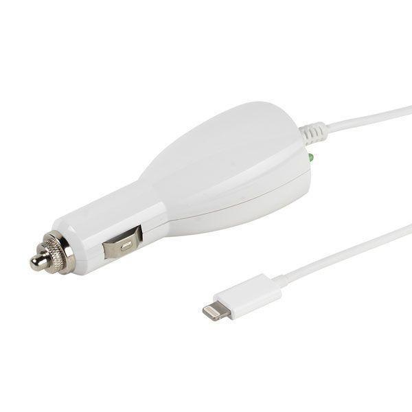 Cargador Coche Vivanco Lightning 2.4a Blanco