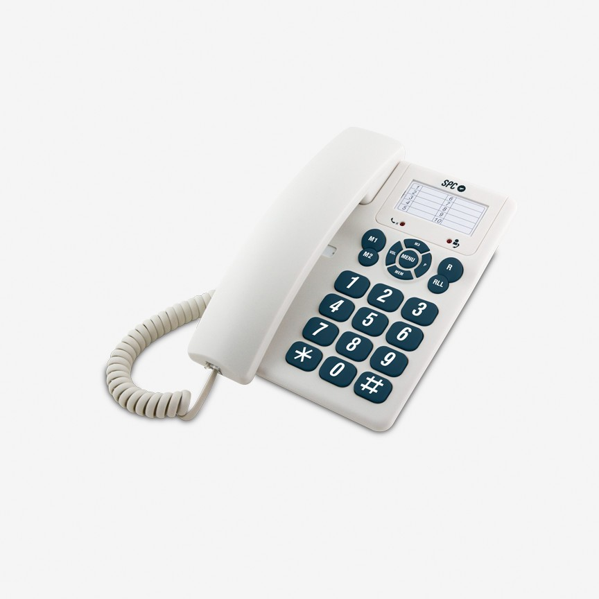 Telefono Sobremesa Spc 3602b Original Blanc