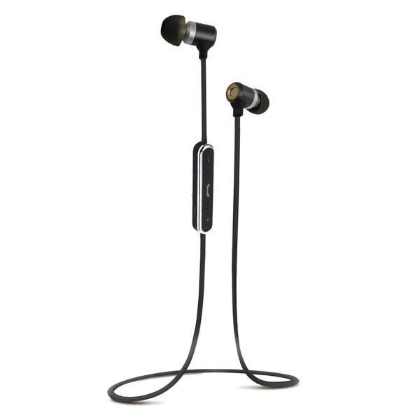 Auriculares Boton Vivanco 37294 Microfono Negro