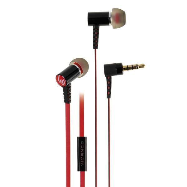 Auriculares Vivanco 37575  Microfono Diseño Metal.Ico