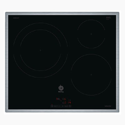 Placa Induccion Balay 3eb865xr 3f 60cm  Inox