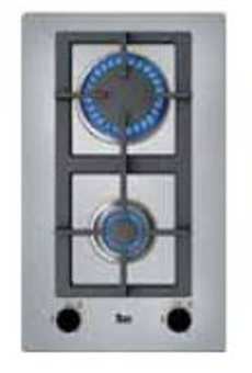 Domino Gas Teka Efx30.1 2gaialci Inox Nat