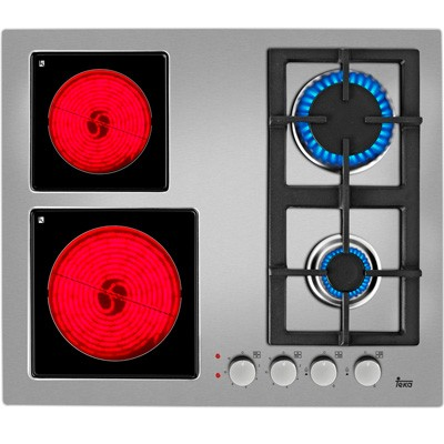 Placa Gas Teka Efx602g2haial 4f 60cm Inox Nat