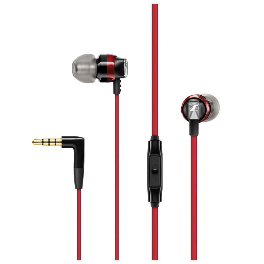 Auriculares Boton Sennheiser Cx300s Microfono Control Remoto Rojo
