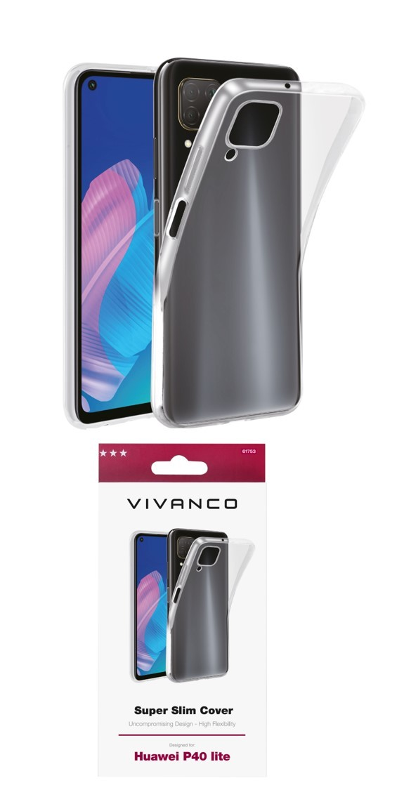 Funda Vivanco Super Slim Huawei P40 Lite Tra