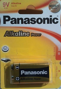 Pilas Alcalinas Panasonic   9v  6lr61 Ap ( 1-Blist