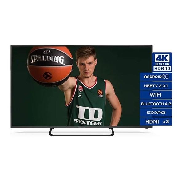 Tv 43 Td System K43dlx11us Uhd 4k Smart Androidtv Wifi Usb Hdmi Plata