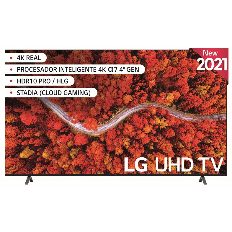 Tv 86 Lg 86up80006la 4k Quad Core Hdr10 Smarttv Webos 6.0 (G)