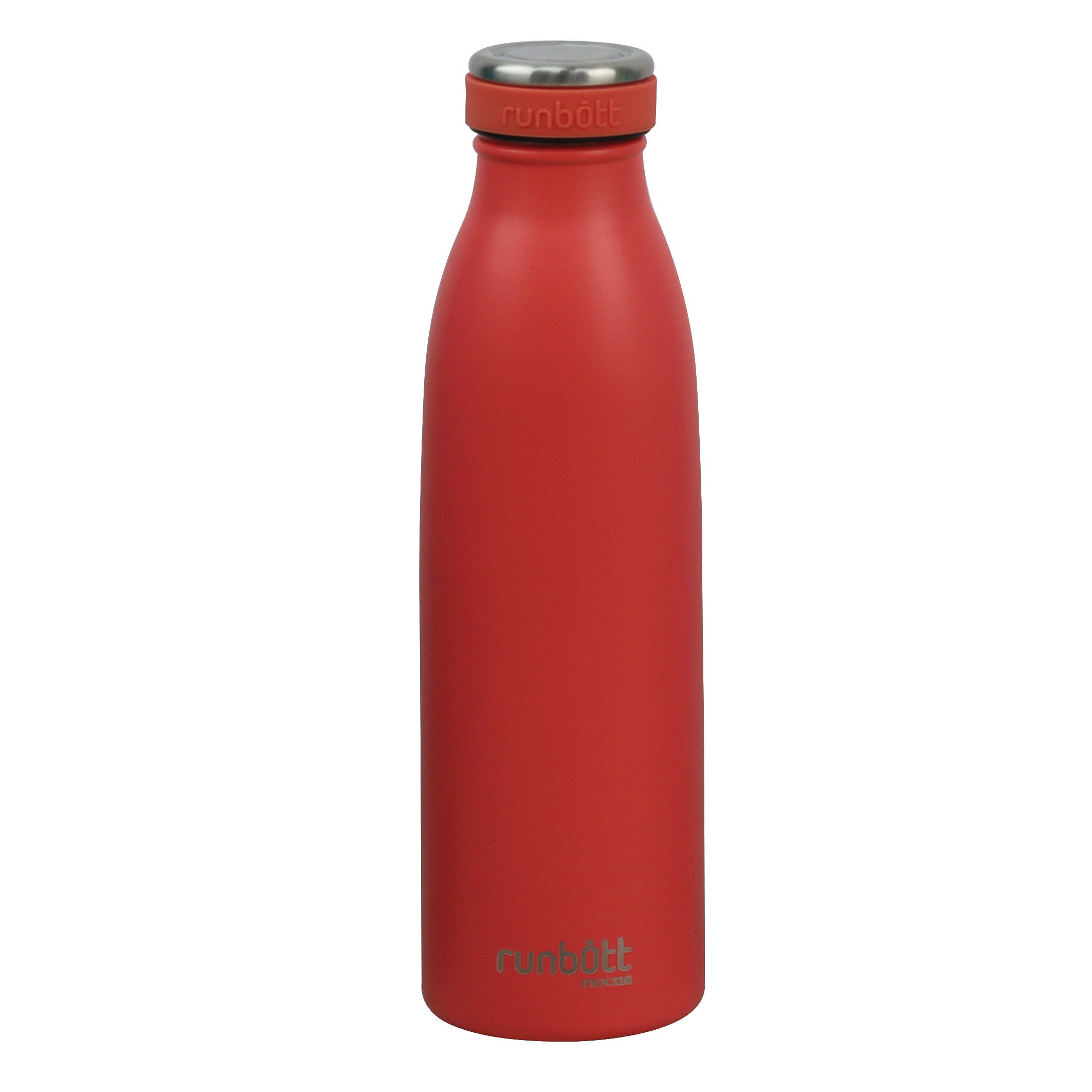 Botella Termo Runbott City 500ml Coral