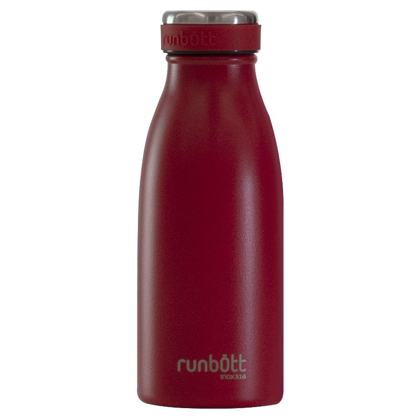 Botella Termo Runbott City 350ml Rojo