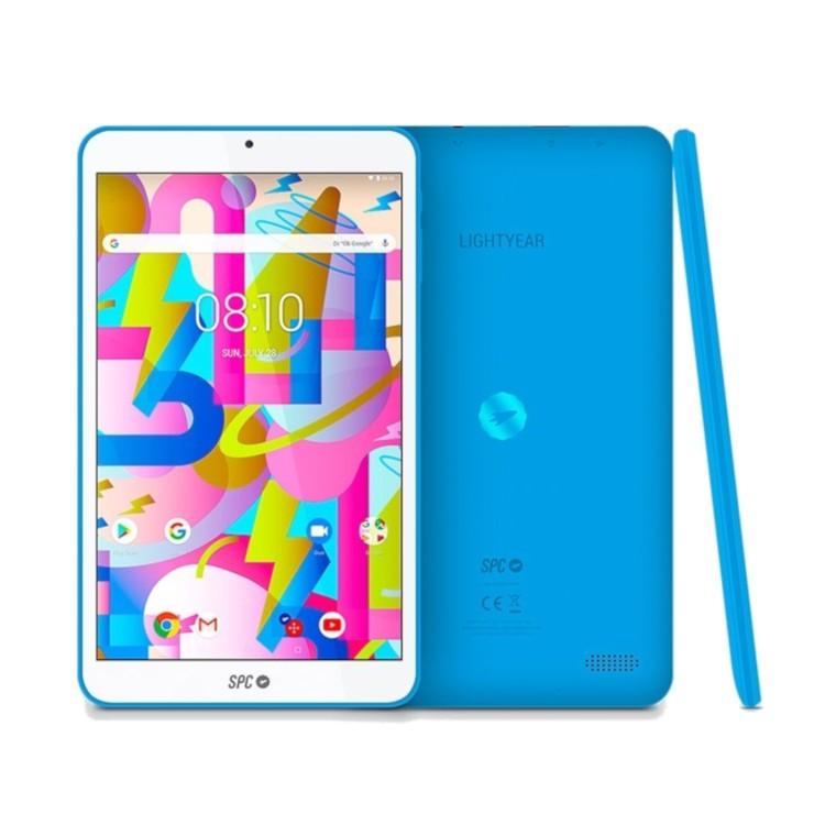 "Tablet 8"" Spc Lightyear 16gb 128gb Micro Sd Android 8.1 Azul"