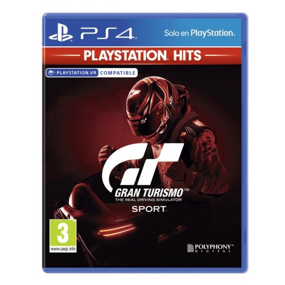 Juego Ps4 Gran Turismo Sport Hits