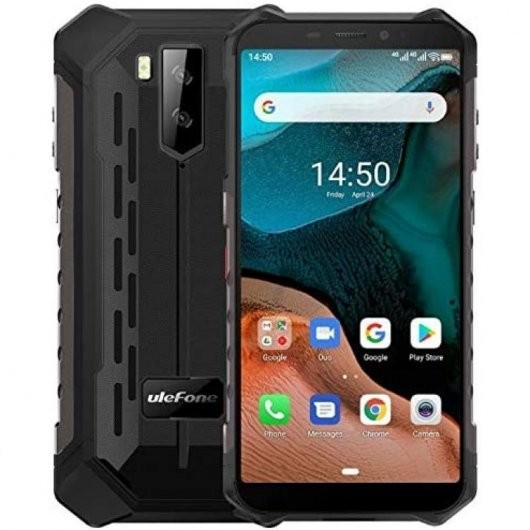 "Movil Ulefone Armor X5 5,5"" Hd Octacore 3+32gb Ip68 Negro (Rugeritzado)"