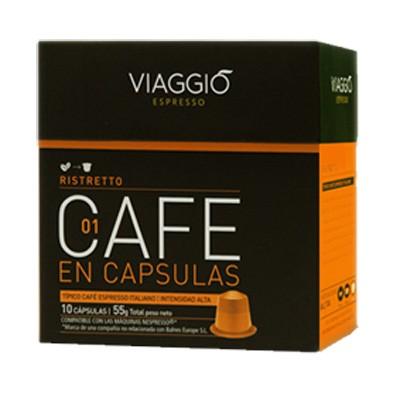 Cafe Viaggio Espresso Ristretto 10 Unidades