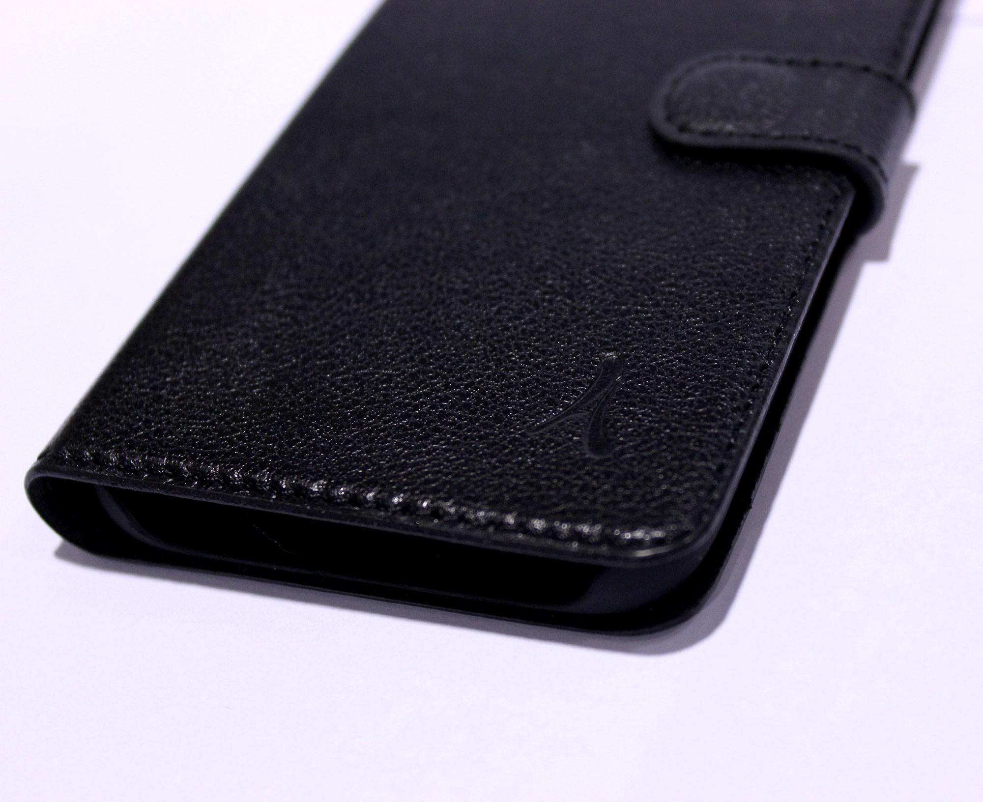 Funda Piel Akashi Samsung S7 Edge Negra