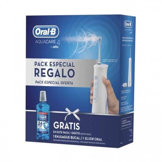 Irrigador Braun Oral-B Aqua Care 4 + Colutorio