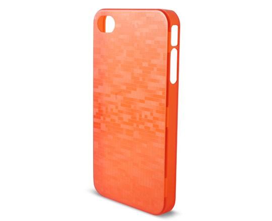 Carcasa Ksix Icube Para Iphone 4, 4s Rojo