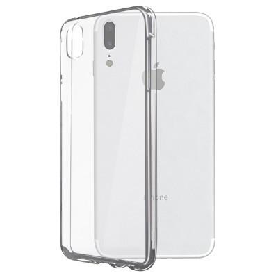 Funda Flex Ksix Tpu Iphone X Transparente
