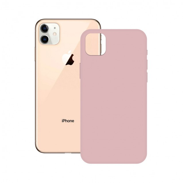 Funda Soft Ksix Iphone 12 Pro Max Silicona Rosa