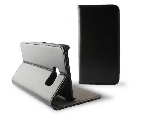 Funda Folio Ksix Con Cierre Galaxy S7 Negra