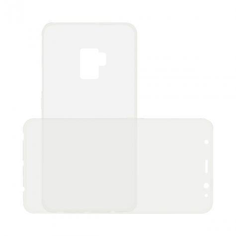 Funda Flex 360 Ksix Tpu Galaxy S9 Plus Transparente Con Frontal