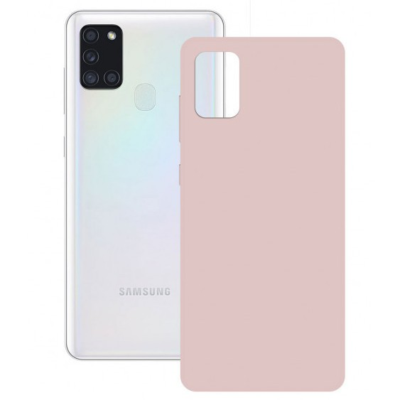 Funda Silk Ksix Samsung Galaxy A21s Rosa
