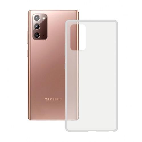 Funda Flex Ksix Tpu Samsung Galaxy Note 20 Transparente