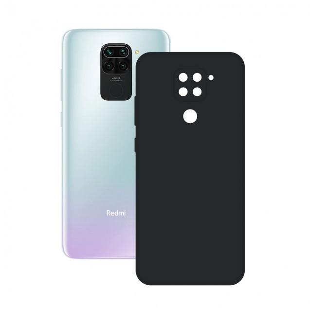 Funda Silk Ksix Xiaomi Redmi Note 9 Negra