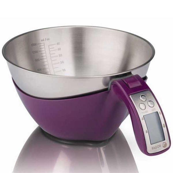 Balanza Cocina Fagor Bc550 Electronica De Diseño