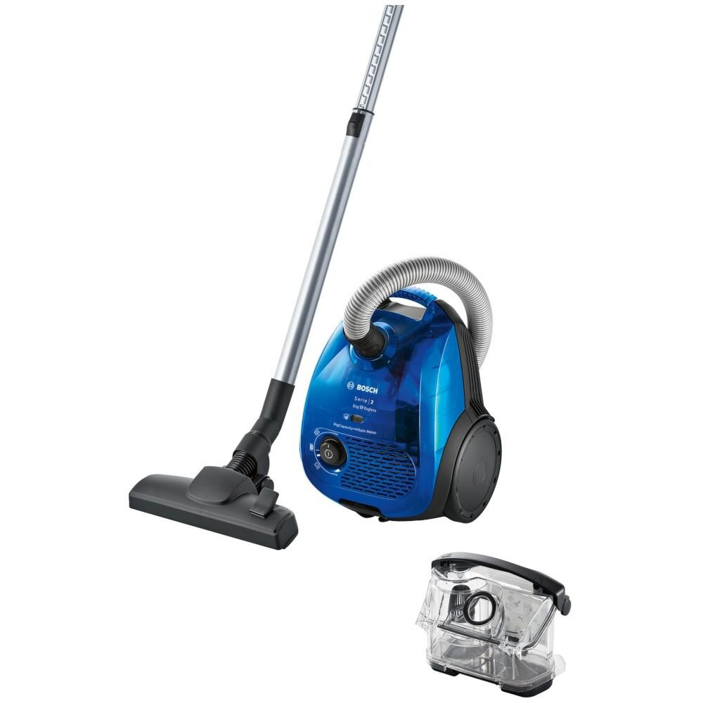 Aspiradora Dual Bosch Bgl2uk438 2400w Azul (Con/Sin Bolsa)