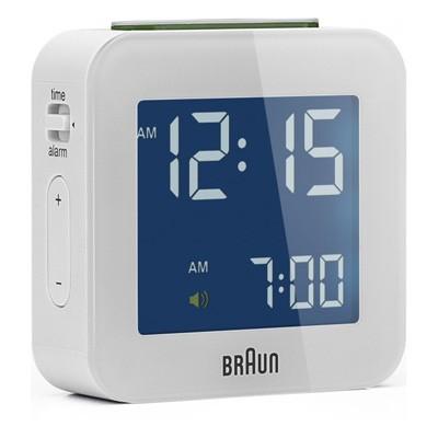 Reloj Despertador Braun Bnc008wh Digital Blanco