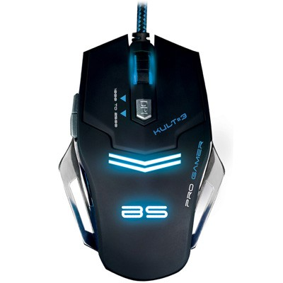 Raton Gaming Bluestork Bs-Gm-Kult3 Iluminado
